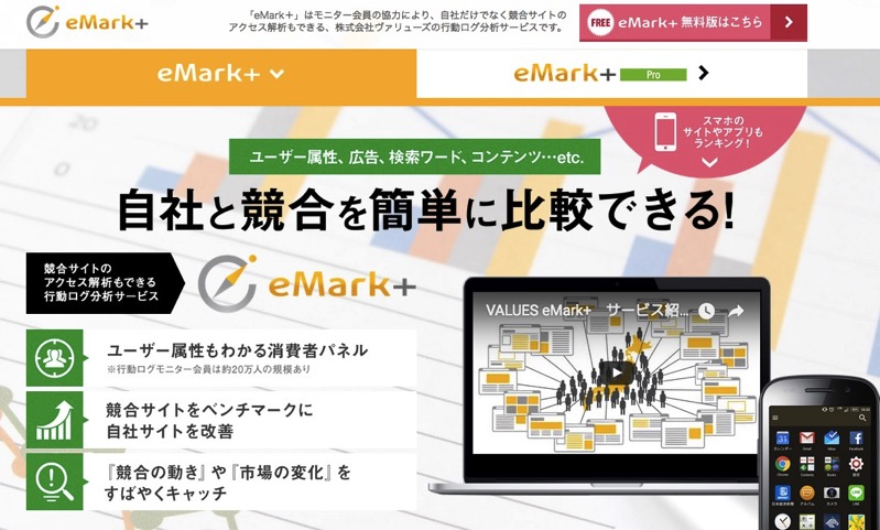VALUES eMark+