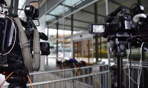 プレス、メディア取材のイメージ